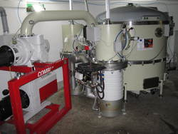 IMAGE: Vacuum facility for coating mirror